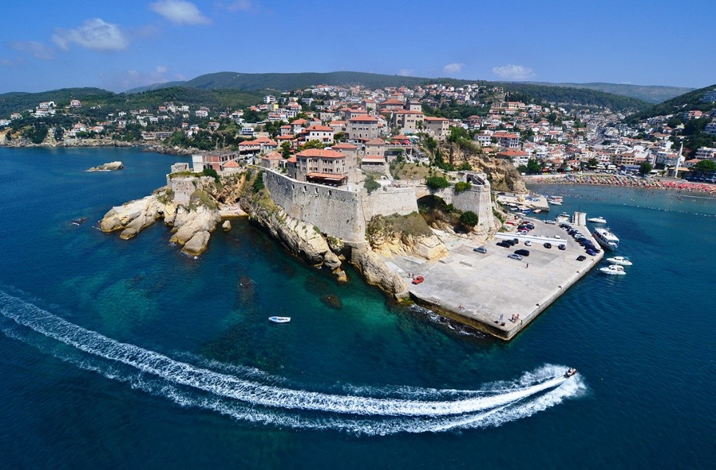 Ulcinj, the town of three Helens, the town that erected the monument to Cervantes