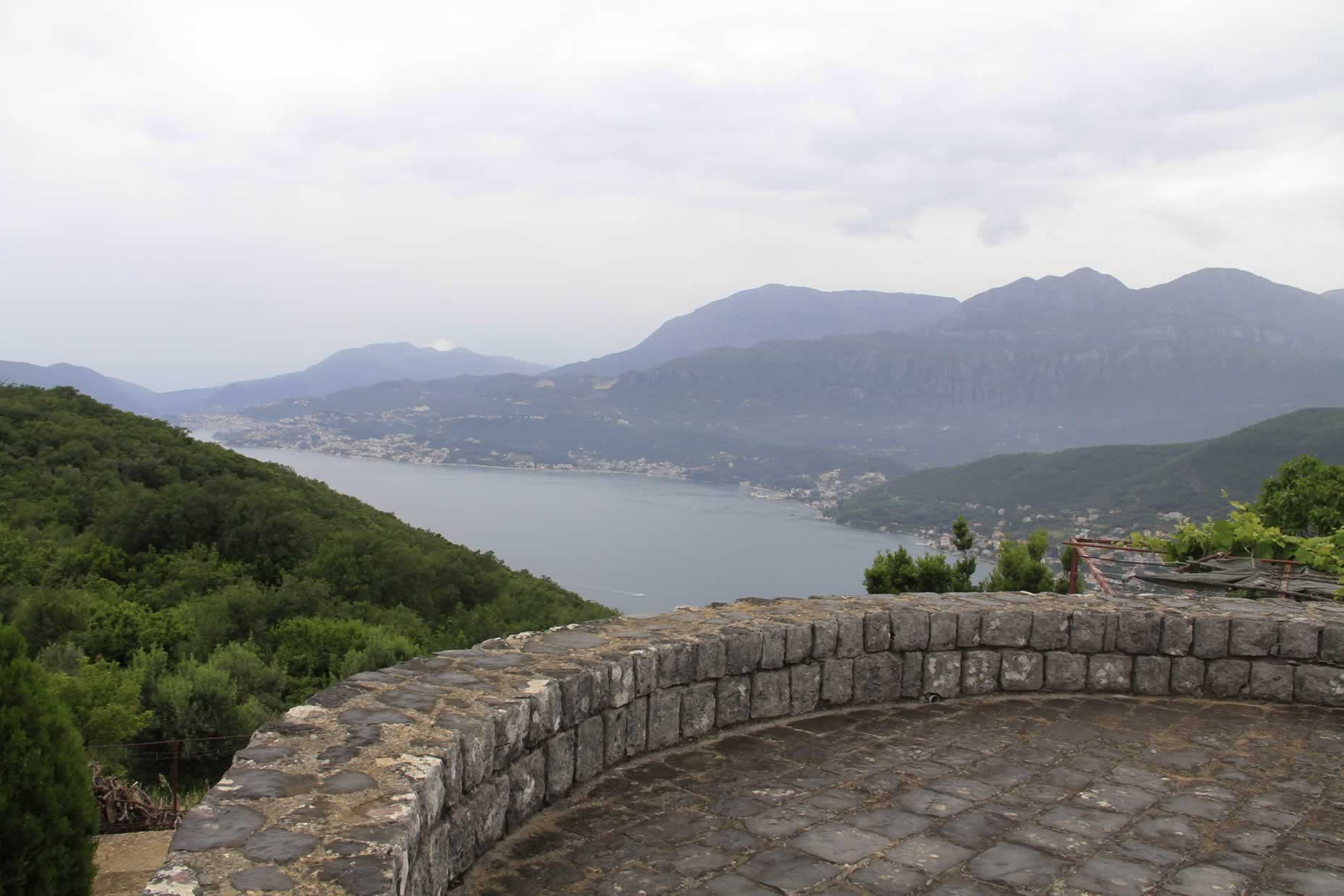 Lookout from Peninsula of Lustica